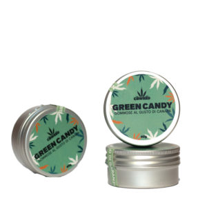Hemp Green Chewy Candy