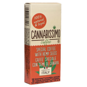 Cannabissimo Coffee with Hemp Seeds